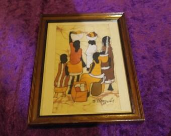 African batic art