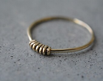 14k wedding ring, delicate gold ring, 14k gold simple ring, wedding ring, engagement ring, stackable rings, minimalist ring, solid gold ring