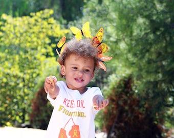 Childhood Cancer - Go Gold - Leukemia Awareness - Cancer shirt - Cancer awareness - Awareness ribbon - Toddler shirt - Childrens Shirt