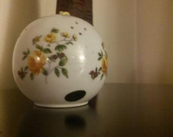 Vintage Andre Richard Porcelain Pomander / Sachet Made in Japan
