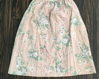 A line floral skirt size 12