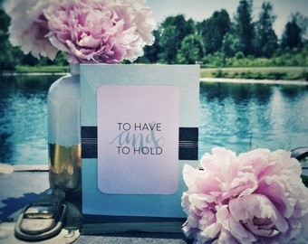 To Have and to Hold | Wedding cards