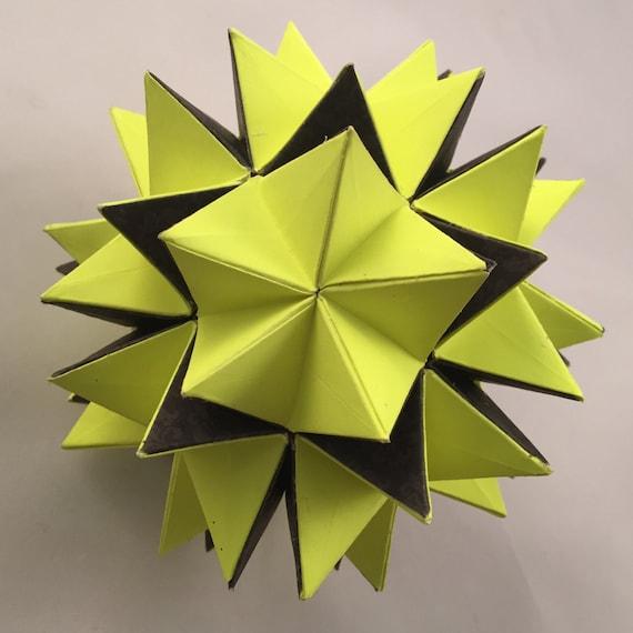 Revealed Flower Origami Ball