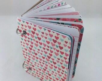 Mini Journal, Junk Journal, Smash Book Journal, Journal, Art Journal, Blank Book, Journal Book 3x4151