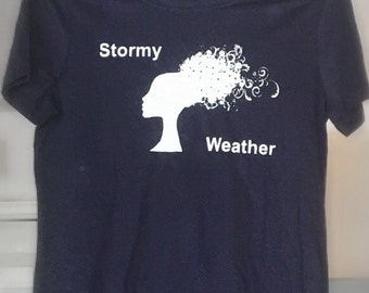 Etta - Just Like Jazz Song 3 - Stormy Weather - Womens/Childrens T Shirts/Fashion