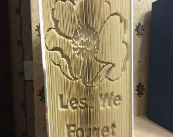 Poppy Rememberance Book fold