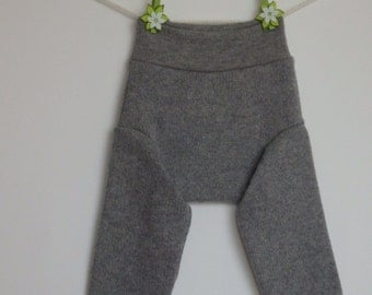 Woolen diaper covers, soakers, baby longies, Size M