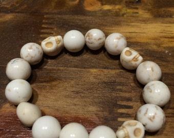 Skull bracelet