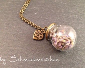 Kette Bronze Lavendel