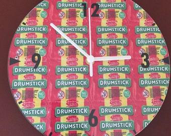 Drumstick clock