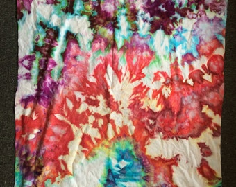 Ice Dyed Flannel 1 Yard | READY TO SHIP