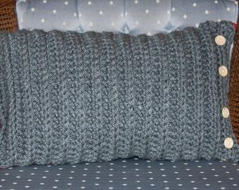 Reversible Crochet Cushion
