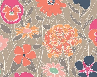 KNIT Fabric, Splendiferous Warm, Art Gallery Knits, Cotton Spandex Knit, Jersey Knit Fabric K-19130