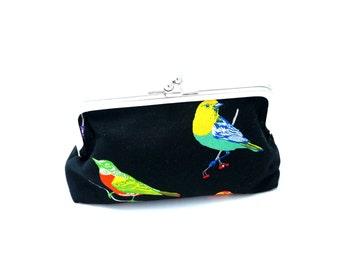 Binjai Clutch - Rainbow Birds