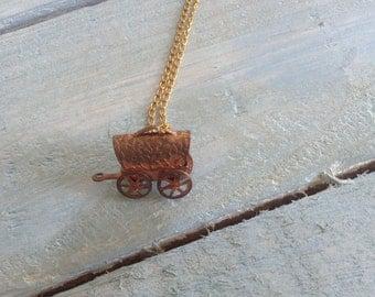 Gypsey caravan pendant