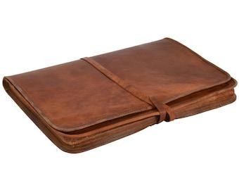 "Gusti leather 'Christofer' laptop case-13 ""MacBook Air laptop bag"
