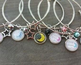 I Love You... Bangle Bracelet