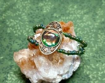Summer Meadow Cuff Bracelet