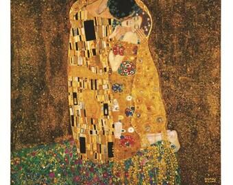 The Kiss - Gustav Klimt (1862–1918)