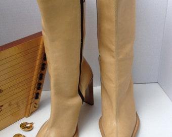 Boots, Exelle, size 8-8.5, Italian, handmade