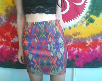 Trippy Pencil Skirt