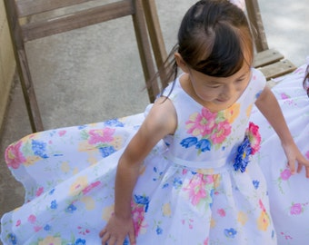 Organza Confetti Flower Dress