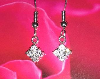 CZ Sterling Silver Earrings