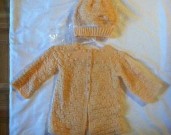 Handmade Crochet Baby sweater