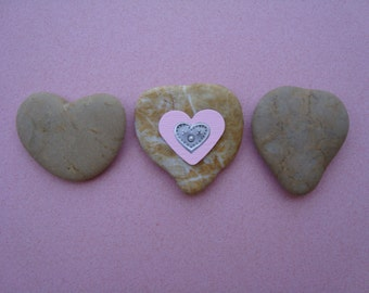 heart shaped sea stones 3-3 sea heart stones-sea pebbles