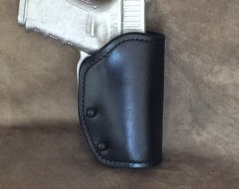 Glock 19/23/32 Leather Belt Holster
