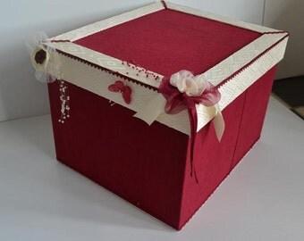 Gift for wedding memories box