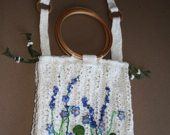 bag from natural linen
