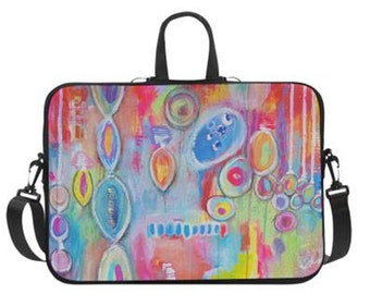 """Christmas in July Laptop Bag 14"""" or 17"""""""