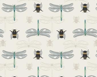 Lewis & Irene, The Botanist - Dragonflies Fabric