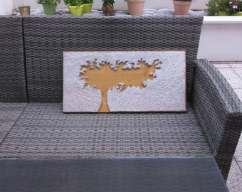 String art tree