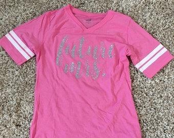 Women's Future Mrs. Tshirt