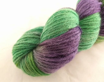 Yarn - One Of A Kind #4 -100% Wool - Hand Dyed - Knit - Crochet - Worsted Weight