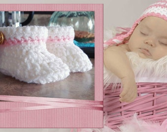 0-3 months baby booties