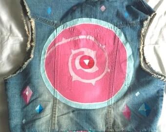 Steven Universe Customised Jean Jacket