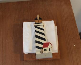 Lighthouse Napkin Holder