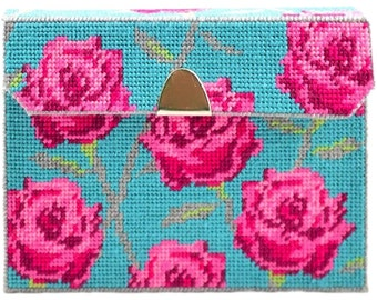 Framous Kits- DIY your own clutch bag - needlepoint kit