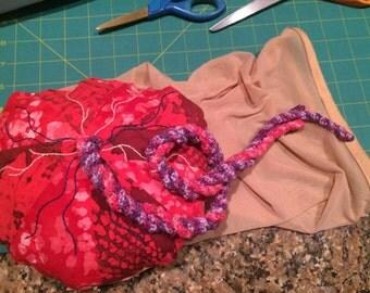 Placenta with membrane bag
