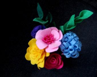 Summer Felt Bouquet