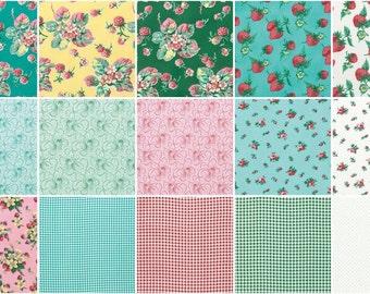 Free spirit fabric bundles Fruta y Flor 27 fat quarters