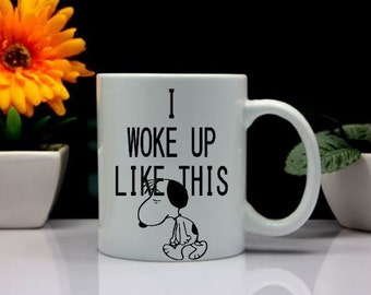 Snoopy Mug Great Gift