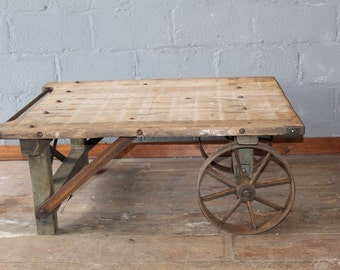 Industrial Farmhouse Coffee Table