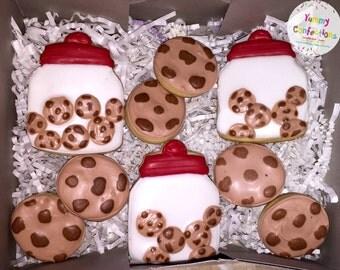 Cookie Jar Cookie Favors - 1 Dozen (12 Cookies)