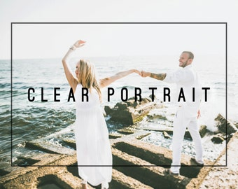 Cool Clear Portrait Premium Lightroom Preset Professional Photo Editing for Portraits, Newborns, Weddings By LouMarksPhoto