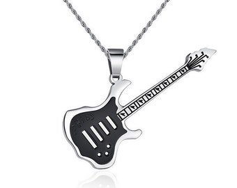 """The """"Guitarist Solo"""" 316L StainLess Steel Necklace"""
