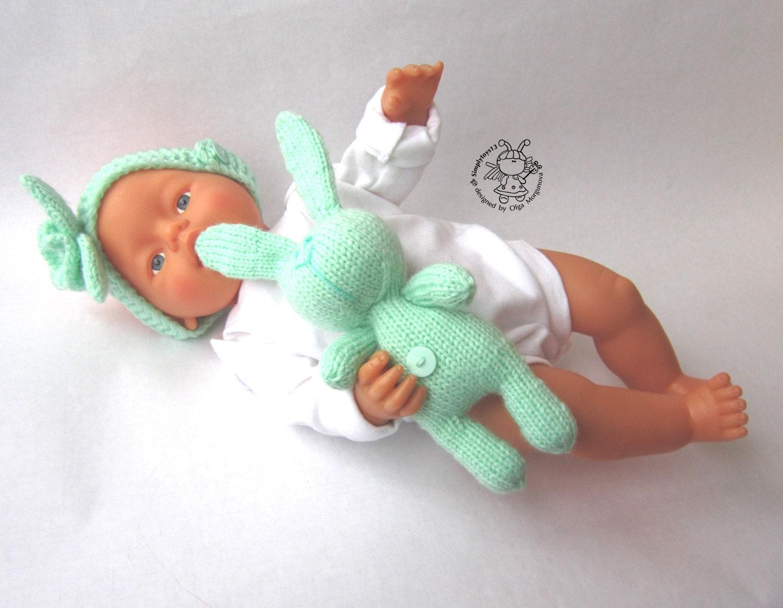 Amigurumi Toys For Babies : Toy for sleep. Bunny for small babies. Amigurumi by ...